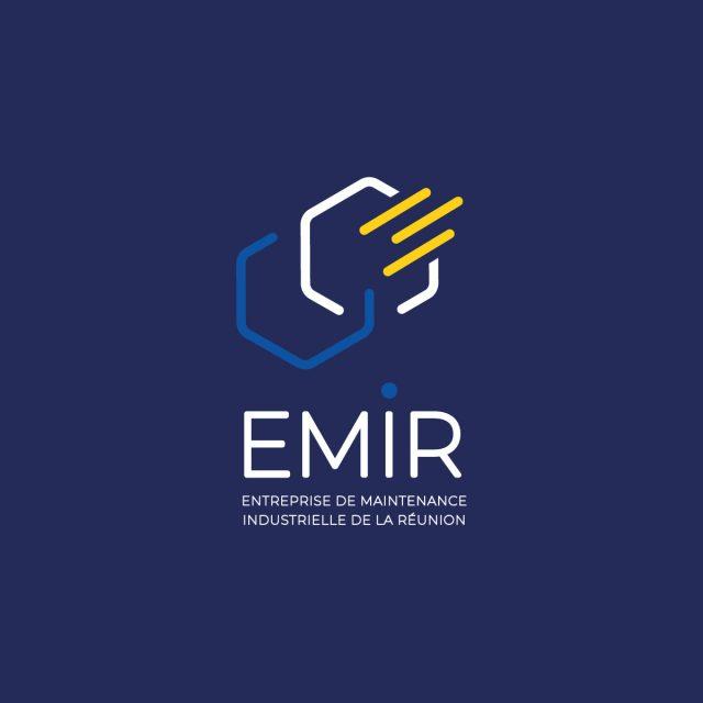 Miniature Logo Emir sur fond bleu