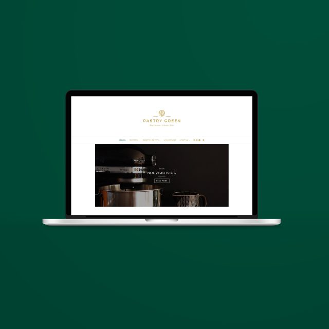 Nouveau Blog de Pastry Green